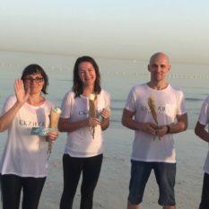 Водное крещение в Эмиратах