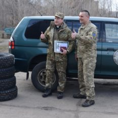 Автомобіль для служіння військового капеланства