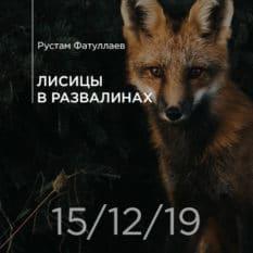 15-12-2019 — Лисицы в развалинах